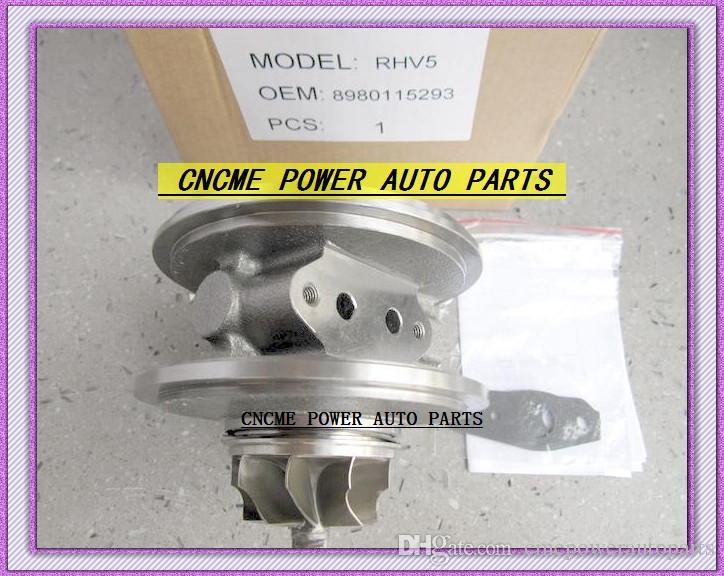 TURBO Patrone CHRA RHV5 VBX90025 VIEZ 8980115293 8980115294 Turbolader Für ISUZU D-MAX Rodeo 3.0L 2007-4JJ1-TC 4JJ1TC 165HP