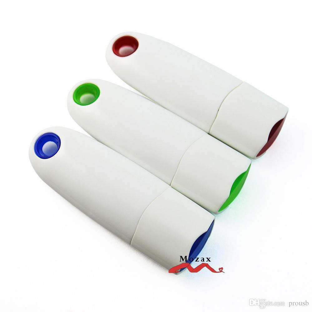 컬러 로고 인쇄에 적합한 새로운에 Taipower 도매 U 디스크 10PCS의 USB 펜 드라이브 8기가바이트 플라스틱 메모리 플래시 Pendrive 스틱 키 Stirage
