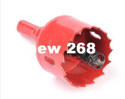 Free shipping 100PCS/pack 30mm M42 Bi-metal hole Saw steel iron wood plastic hole opener underreamer pipeline perforator
