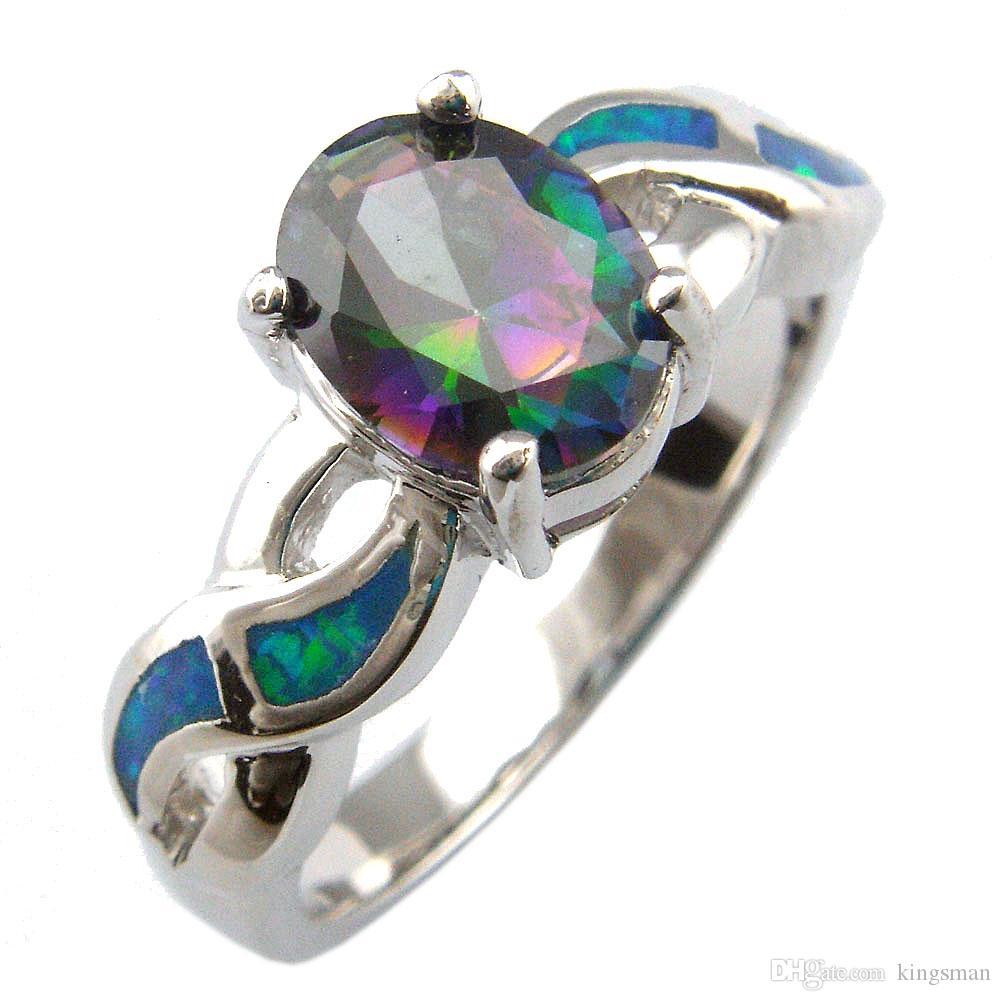 Bijoux opales avec pierre CZ; Pendentif opale de mode avec amthyste baleine pendentif or067a