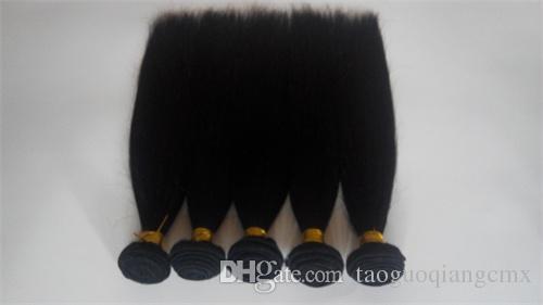 Grade 6A Unprocessed Virgin Brazilian Hair Extension Top Qaulity Straight Malaysian hair extension brazilian human hair Weft Free Shipping