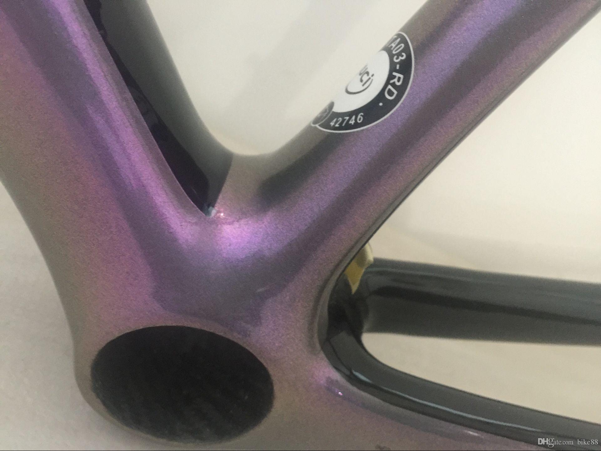 2018 best lightest bicycle carbon frame sagen bicycle carbon frame swk road bike frameset T1000 UD glossy finished made in china framework