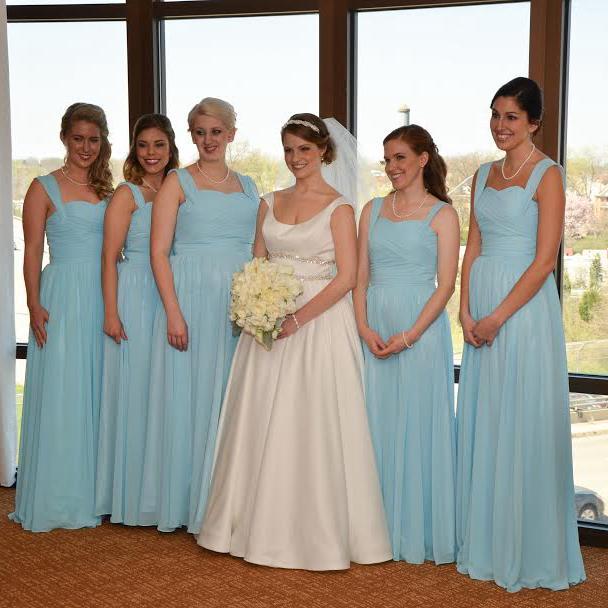 research blue wedding dress canada