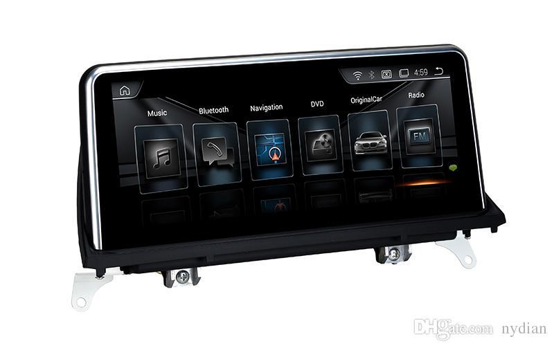 جديدة 10.25 بوصة تقسيم الشاشة الروبوت 10.0Car لاعب BMW X5 E70 / BMW X6 E71 GPS مع واي فاي لاعب MP5