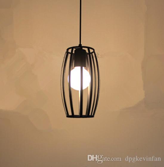 Ev Blackwhite için Salon Mutfak Noel süslemeler İskandinav parıltı Sanayi Kolye Işıklar Led lambalar