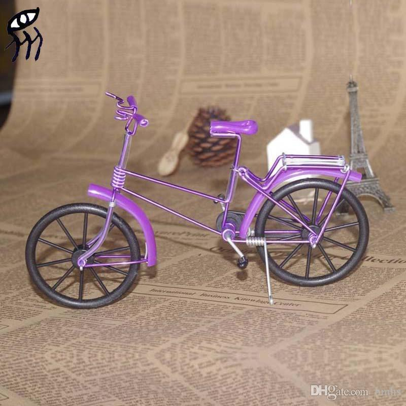 2018 Toys & Gifts Creative Manual Metal Crafts Mini Bike Diy Model ...
