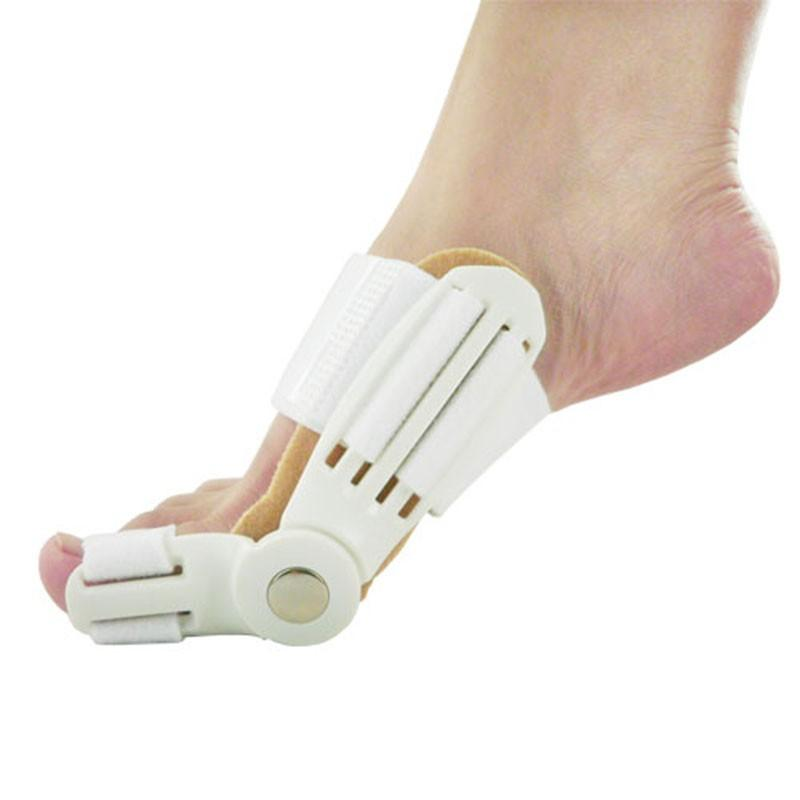 Updated Toe Straightener Corrector Toe Bunion Corrector Hallux Valgus Day Night Splint Straightener