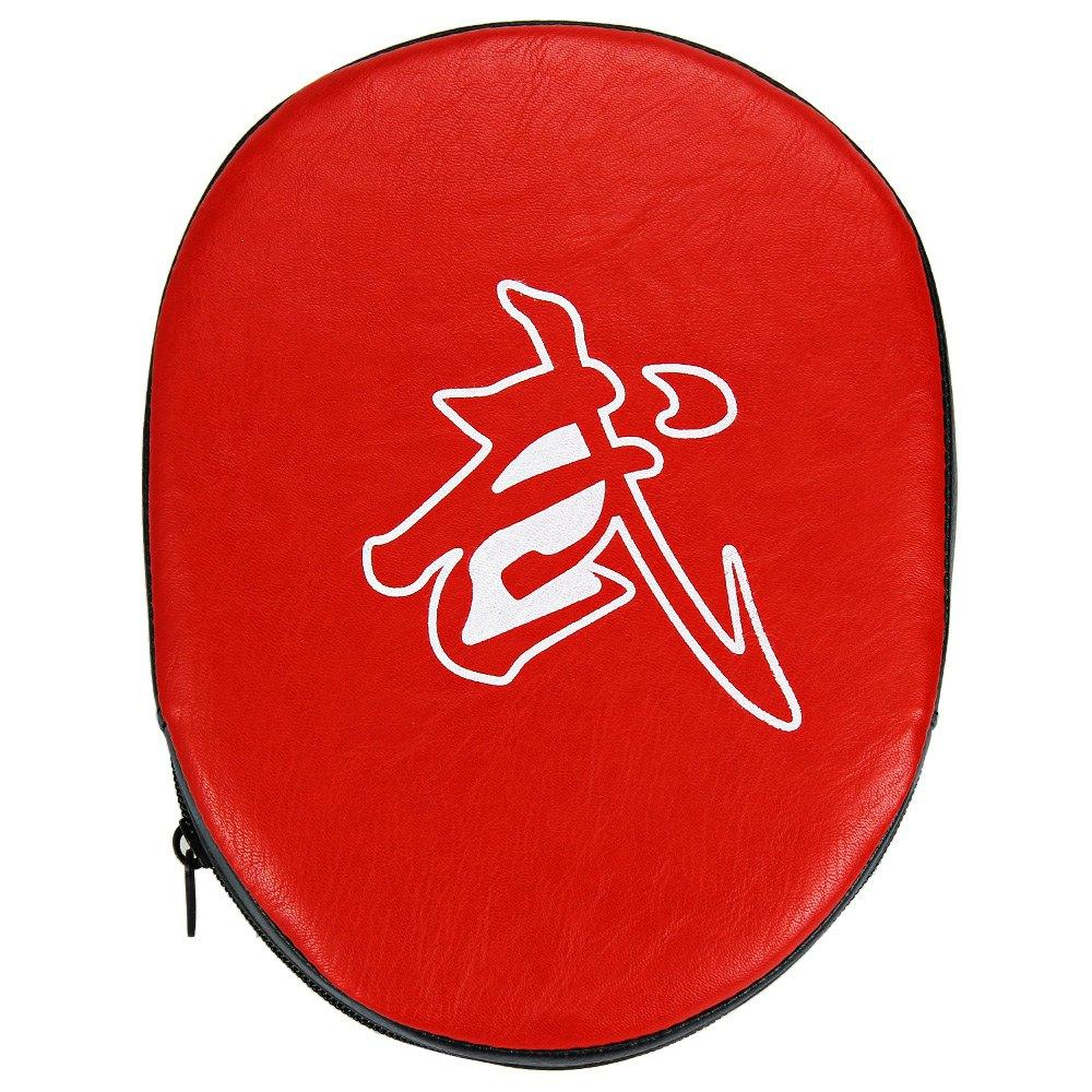Boxing Mitts Training Target Focus Punch Pads Glove MMA Karate Muay Kick R+B