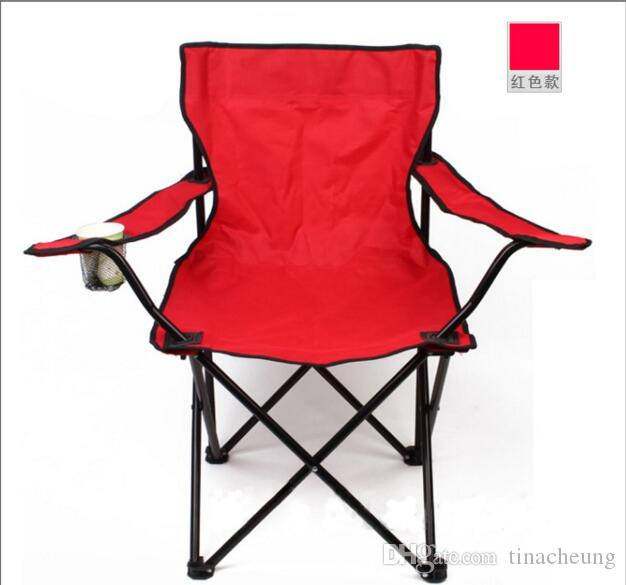 outdoor camping chair. Large Outdoor Folding Chair Fishing BBQ Camping Beach Portable Garden Chairs With Armrest And Backres Camp
