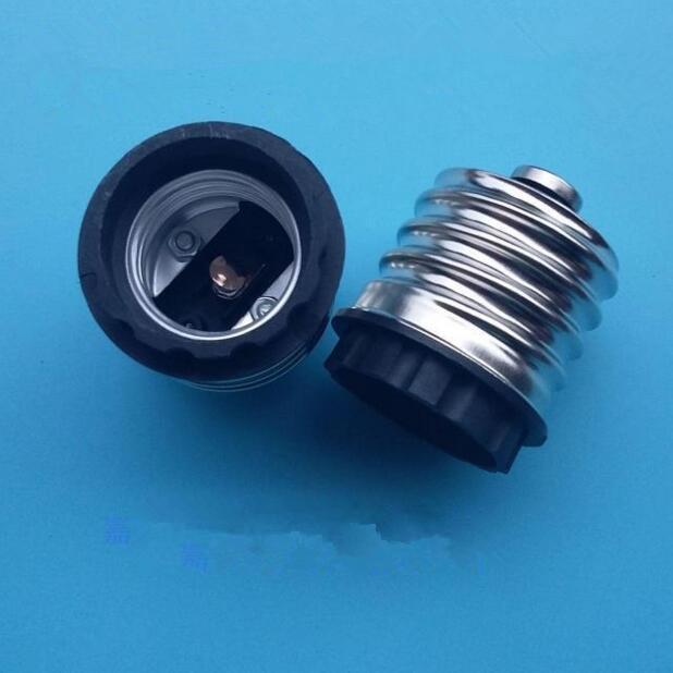 E40 para E27 Edison Parafuso LED Lâmpada de Rua Conversor Adaptador Cerâmico 500 pcs