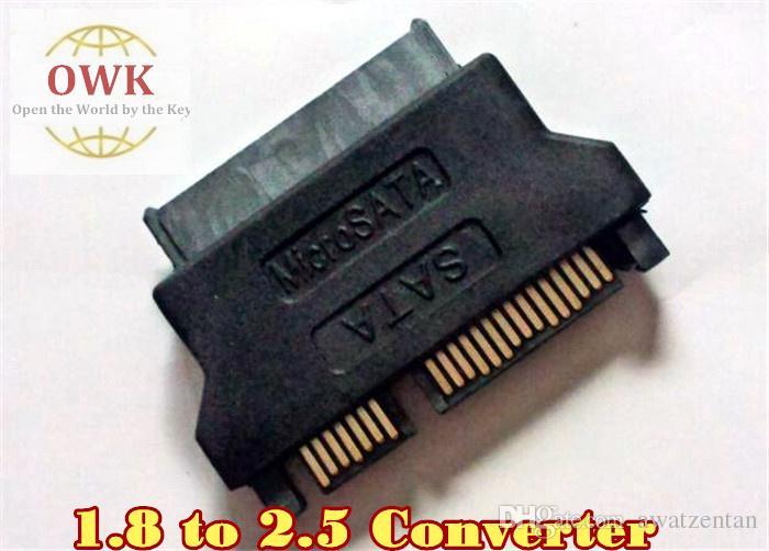 Brandneu 1,8 'bis 2,5' SSD mSATA Micro SATA zu SATA Konverter Adapter Kostenloser Versand Micro Sata Kabel