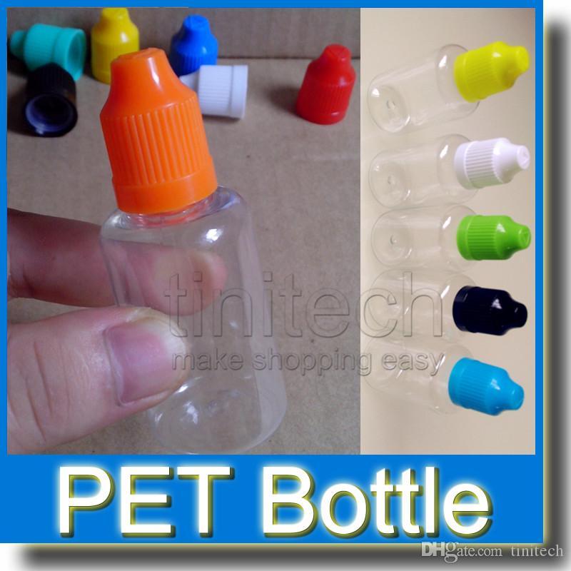 Frasco Vazio de Plástico PET Frascos Conta-gotas com Pontas Longas e Finas Cápsulas Para Crianças E Líquido Agulha Frasco 5 ml 10 ml 15 ml 20 ml 30 ml
