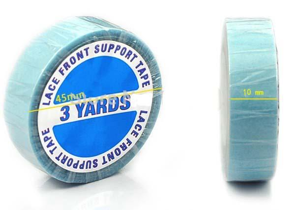 3yards Super Tape Blue Dwustronna taśma do przedłużania włosów Kleisty Koronkowy Wig Klej