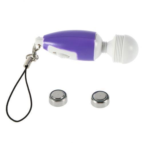 Hurtownie -Tetails O Mini Stick Massager Key Chain Portable Full Ciało Wibracja Relaksujące Masaż G9 # E702