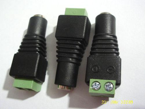 10PCS 5.5 X 2.1mm DC قوة التوصيل أنثى برميل التوصيل محول المحطات
