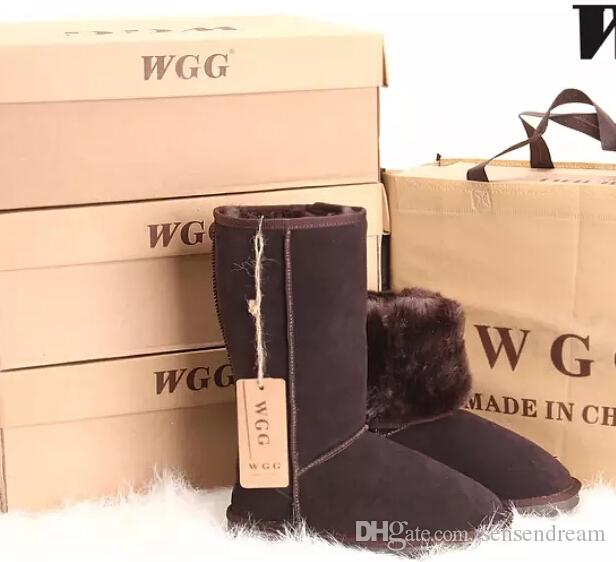 ALL model in stock Hot sell Free shipping High Quality WGG Women's Classic tall Boots Womens boots Boot Snow Winter boots leather boot