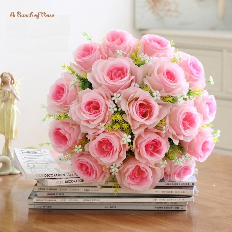 2018 hyson shop new arrival hot sales home decorative flowers hyson shop new arrival hot sales home decorative flowers artificial flower a bunch of 18 roses mightylinksfo