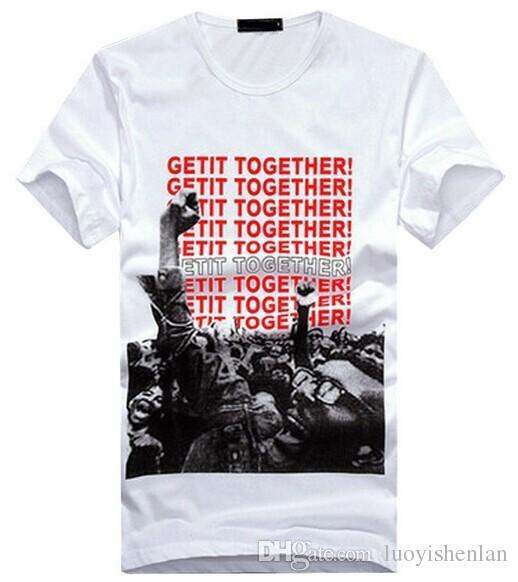 Nowy Design Men 3D T-shirt Summer Hot Sprzedaż Moda męska Odzież O-Neck Krótki Rękaw 3D T Shirt Koszulki Tops Trójniki dla człowieka