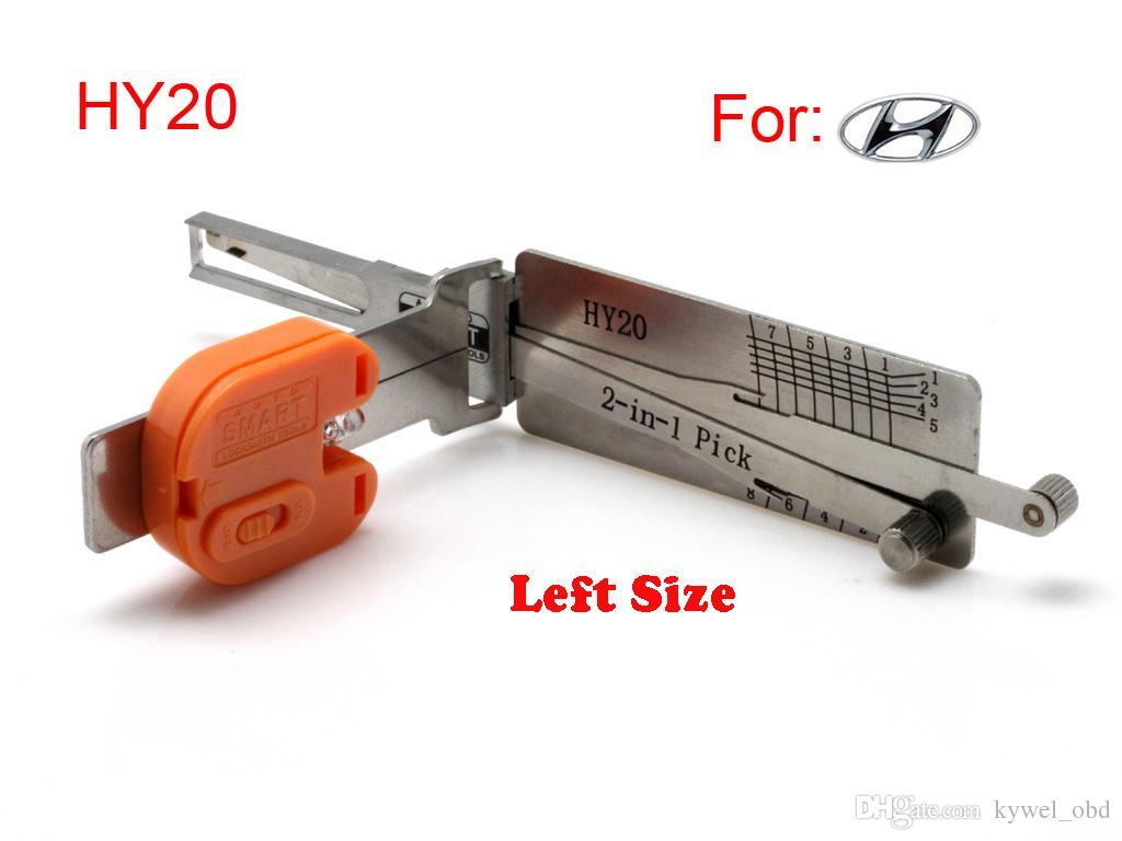 السيارات الذكية HY20 (الجانب الأيسر) 2 في 1 لصناعة السيارات في اختيار وفك ، أداة الأقفال حرية الملاحة