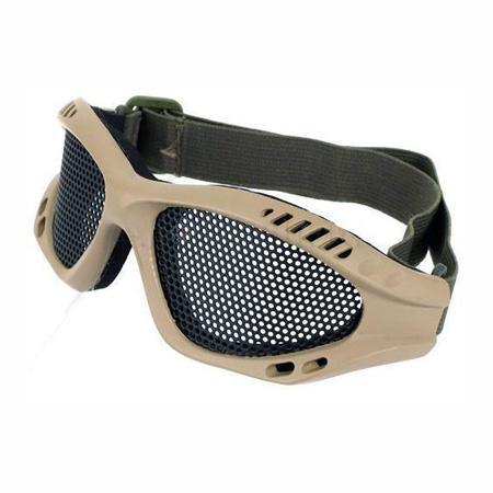 TMC Metal Wire Ochronne Airsoft Goggles Dark Earth