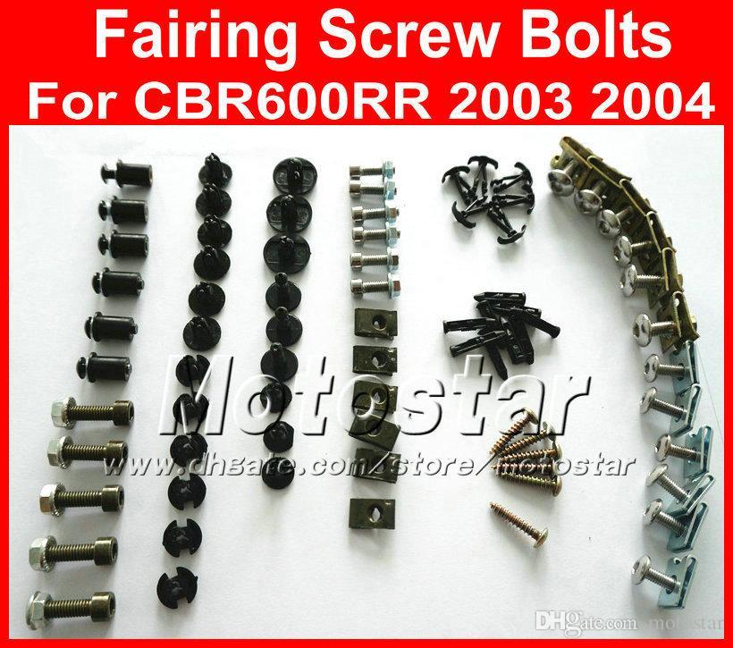 Standard Motorcycle Fairing Bolt Kit For Honda CBR1000RR 2006-2007 Body Screws and Hardware Fasteners
