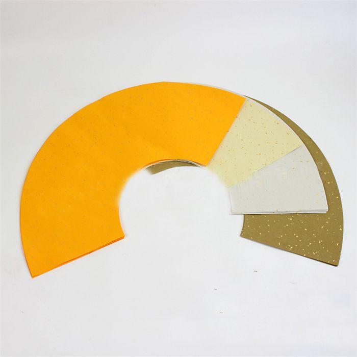 All'ingrosso-20pcs / set carta da parati cinese in tela a forma di ventaglio per la pittura che fa il ventilatore