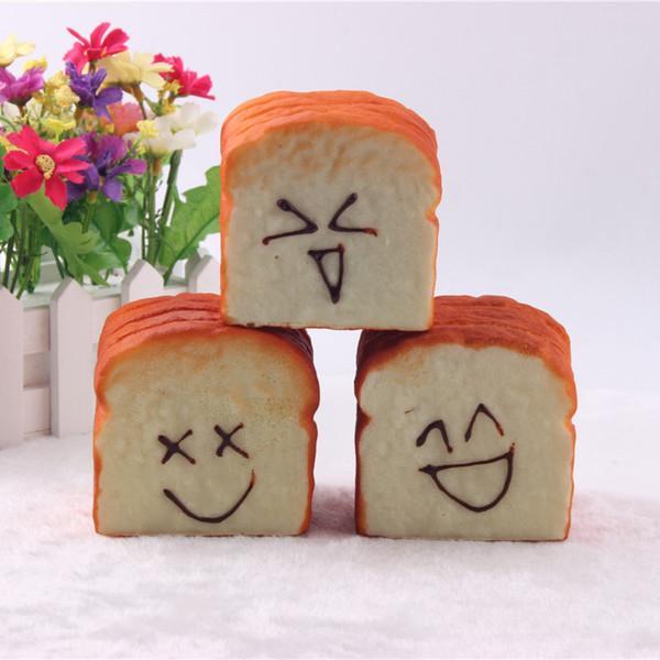 Großhandel Großhandel Kreativität Simulation Pu Material Halbe Hand Toast Brot Kunst Und Handwerk Visitenkarte Clip Stil Optional Für Kinder Office