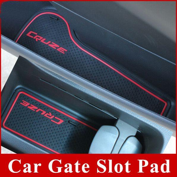 Gate slot pad rubber car-cup mat pad car accessories for Chevrolet ...