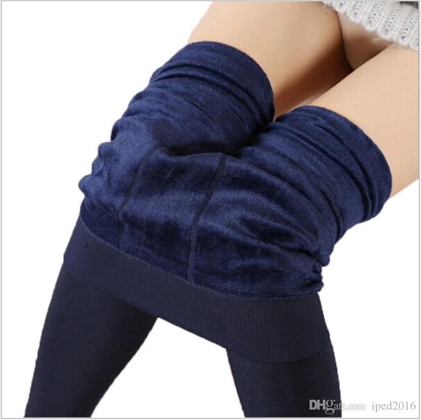 Women Clothing Leggings Pants Plus Velvet Thick Warm Leggings Ladies Pants For Winter Super Elastic Women Leggings
