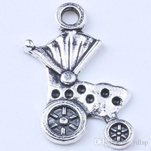 2016 DIY ретро серебряный / медный автомобиль ожерелье старинные браслет металлические ювелирные изделия делая 1000 шт. / лот 01511bsh
