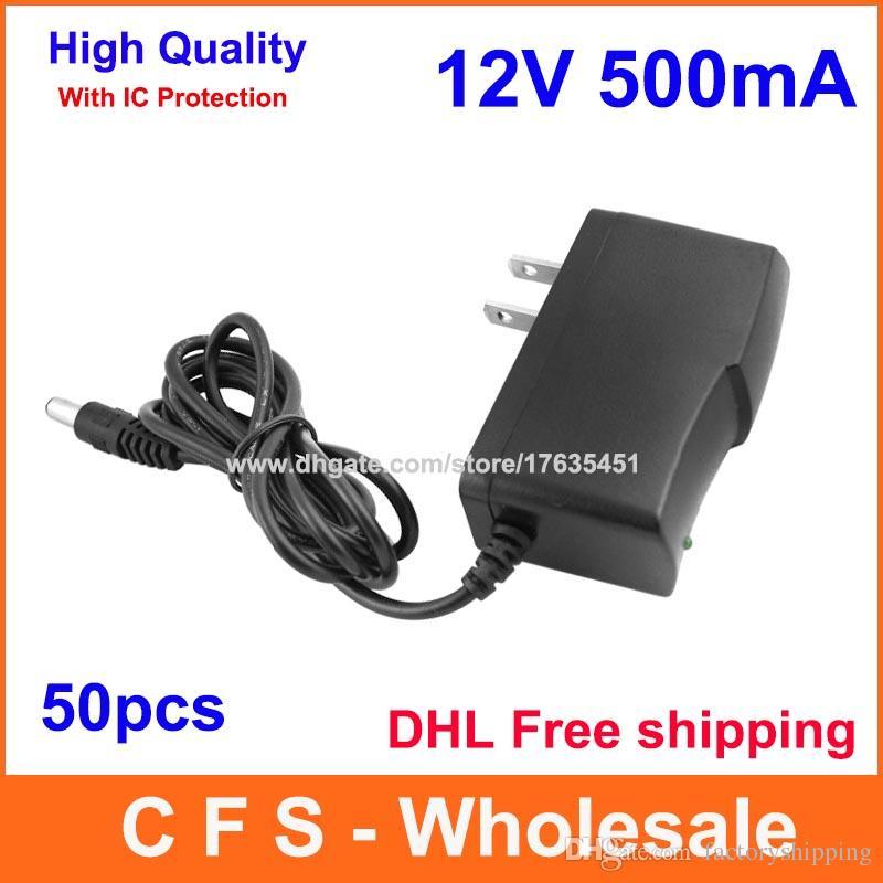 EU Plug AC//DC 9V 800mA 0.8A Power Supply Adapter Adaptor Charger 5.5mm x 2.1mm