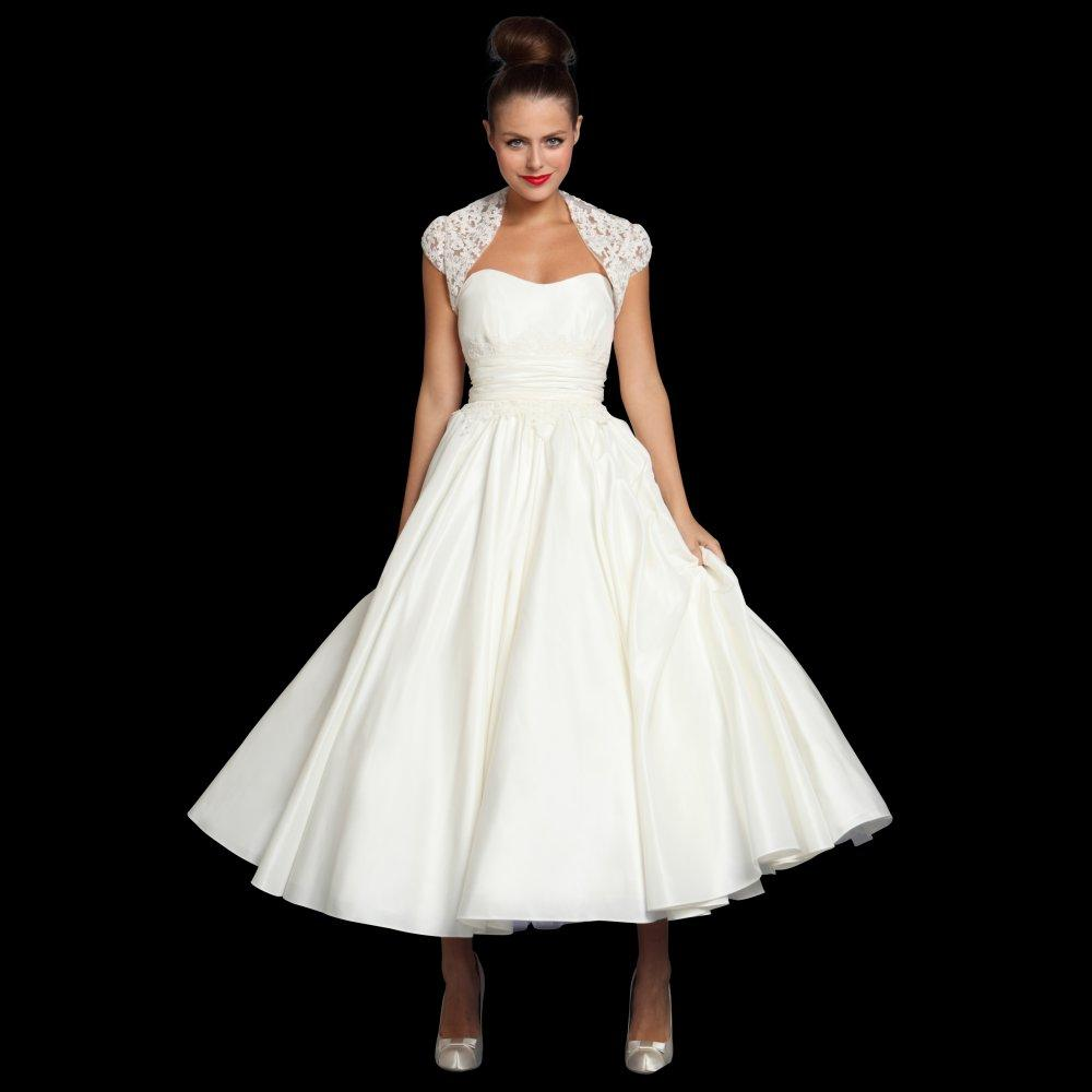 1950s style wedding dresses loulou jenna tea length vintage 1950s style wedding dresses loulou jenna tea length vintage wedding dresses with lace bolero wedding ombrellifo Images