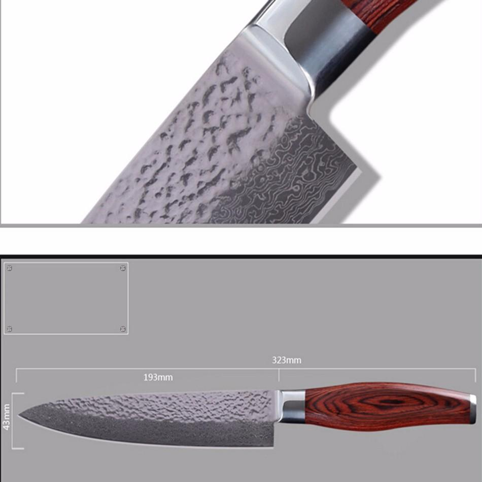 8 inch classic design sharp vg10 damascus steel kitchen knife when it comes to slicing and cutting a great knife saves you time and trouble sharp names of kitchen knives and names of knives in the kitchen are modern