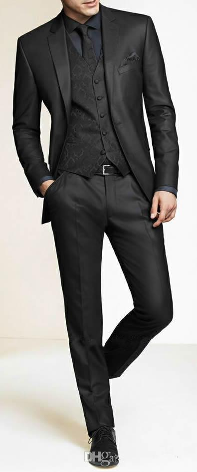 Abiti da uomo slim fit su misura grigio scuro vestito da sposo, su misura su misura abiti da sposa per uomo, smoking da uomo mens abiti h67