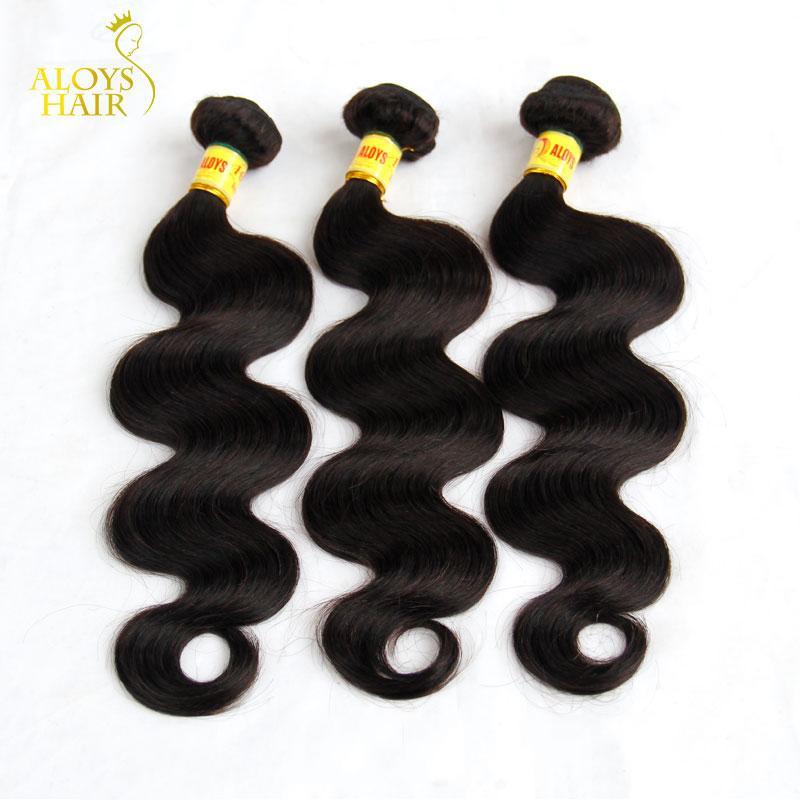الماليزية عذراء الشعر نسج حزم غير المجهزة الماليزي الجسم موجة لحمة الشعر 3/4 قطع الكثير رخيصة ريمي الإنسان الشعر الطبيعي الأسود 1b