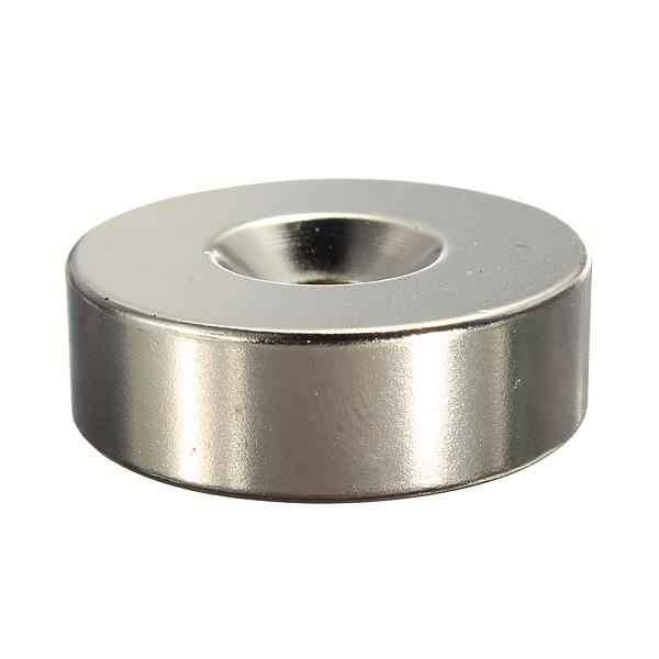 Strong Ring Loop Countersunk Magnet 30 x 10 mm Hole 6 mm Rare Earth Neo Neodymium neodymium magnet cylinder 6mm order<$18no track