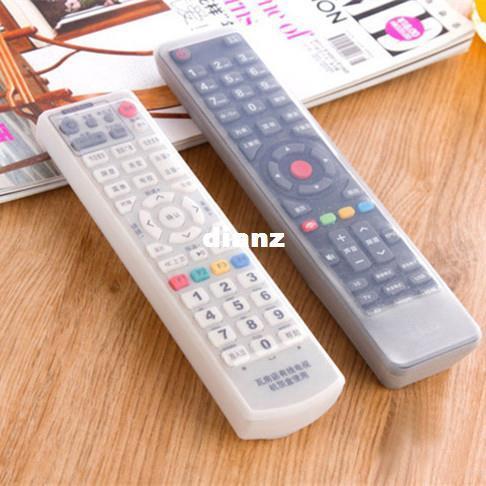 Moda Bolsas de almacenamiento en caliente Control remoto de TV Funda protectora para el polvo Organizador del titular del artículo Inicio Equipamiento Material Accesorios Accesorios