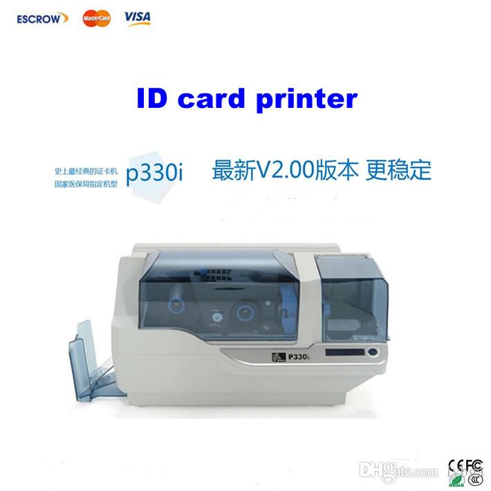 Best !! Zebra Single Pvc Id Card Printer P330i, Support Color ...