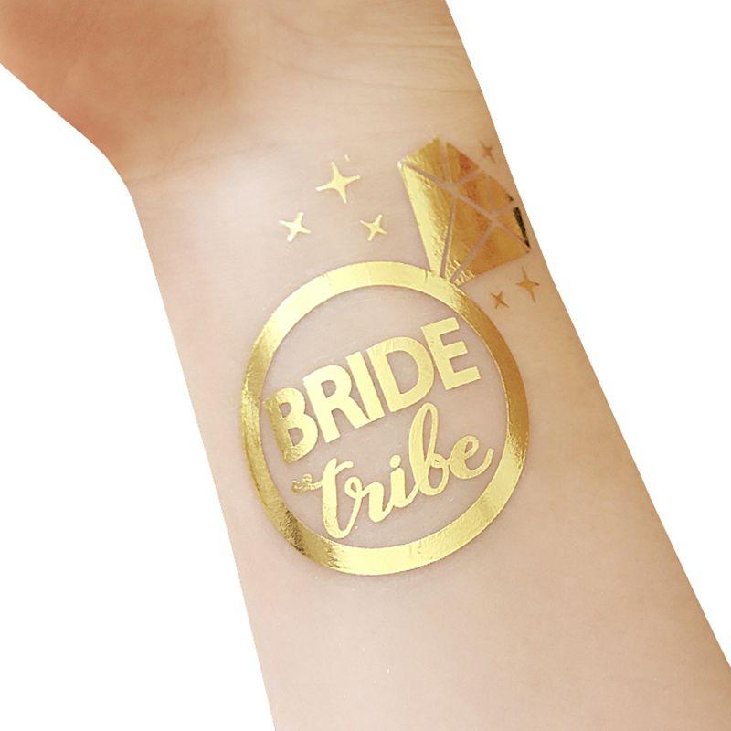 1pcs Bride Temporary Tattoo Bachelorette Party Accessories Bridesmaid Bridal Shower Wedding Decoration Party Decoration #35