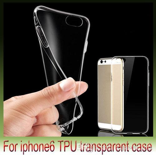 TPU Przezroczyste powłoki plastikowe kryształowe Case DIY Case Powrót Skrzynki na telefon dla iPhone6 I6 Plus 4,7 5,5 cala 5s