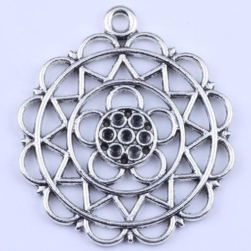 Новая мода серебра производство ювелирных изделий DIY подвеска комбинированная форма Fit ожерелье или браслет 30pcs/много 2154c