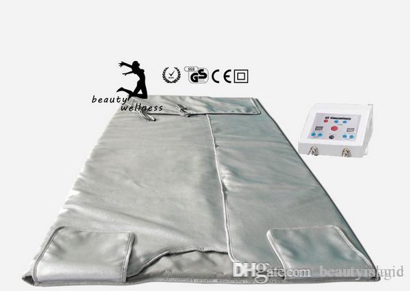 Sauna Inflared Cobertoras em emagrecimento Cobertor Térmico AppArtus Infravermelho Aquecimento Blanket Perda de Peso Infravermelho Sauna Próximo Frete Grátis