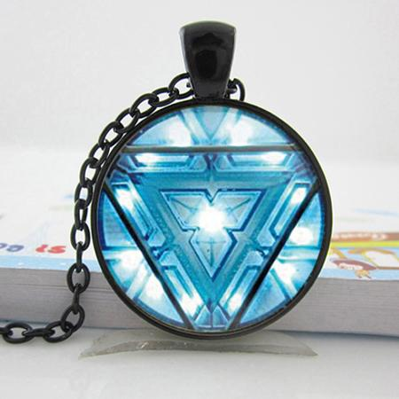 Wholesale r0061 iron man arc reactor jwelry necklace iron man r0061 iron man arc reactor jwelry necklace iron man pendent tony stark arc reactor pendant necklace aloadofball Image collections