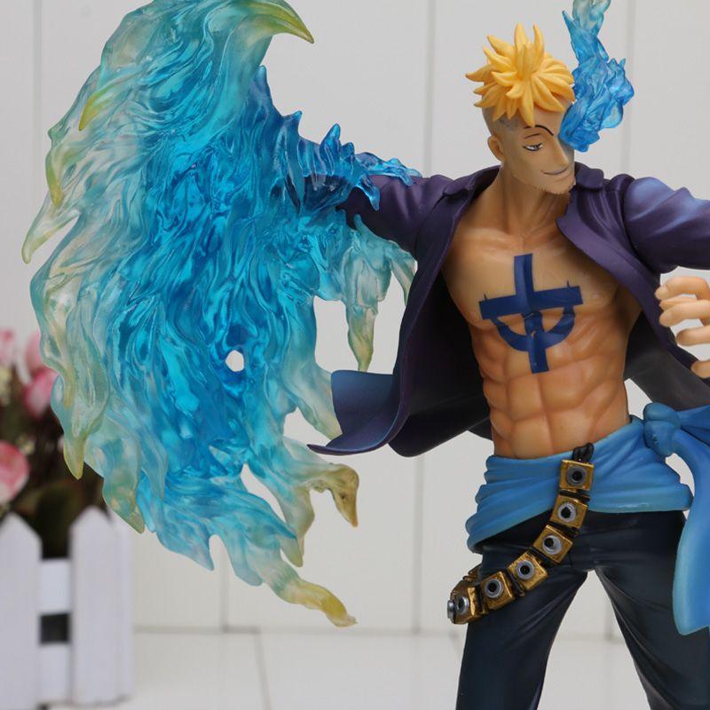 The Phoenix Battle Ver Anime One Piece P.O.P POP DX MAS Marco Boxed PVC Actio