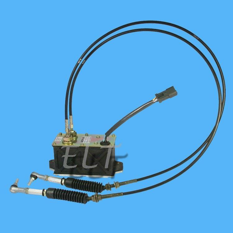 스로틀 모터 6 PINS 247-5231 엔진 제어 모터 119-0633 가속기 맞춤 굴삭기 E320B E312B E320B