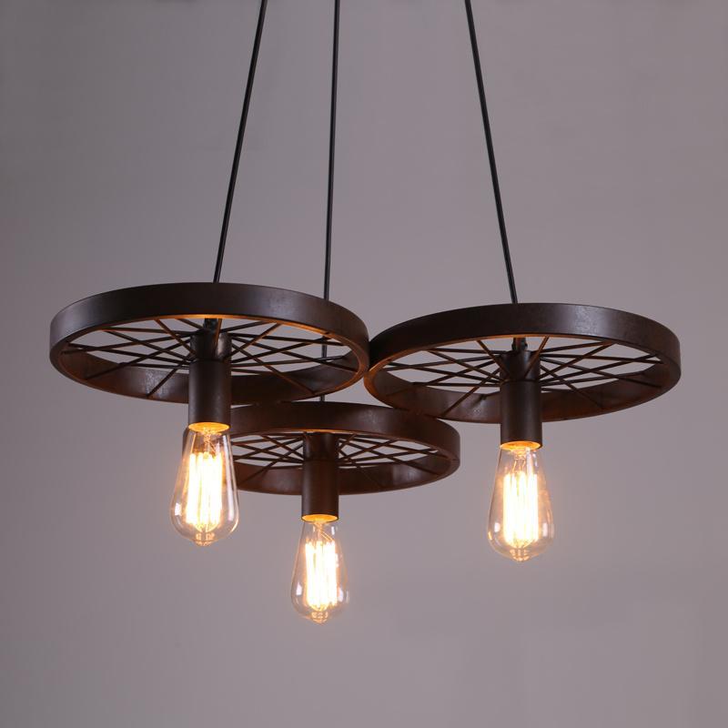 110 V 220 V LED Lampade A Sospensione Incandescente E12 E14 E27 Lampade A Sospensione A LED A LED Misura per Soggiorno Ferro Materiale ty-005