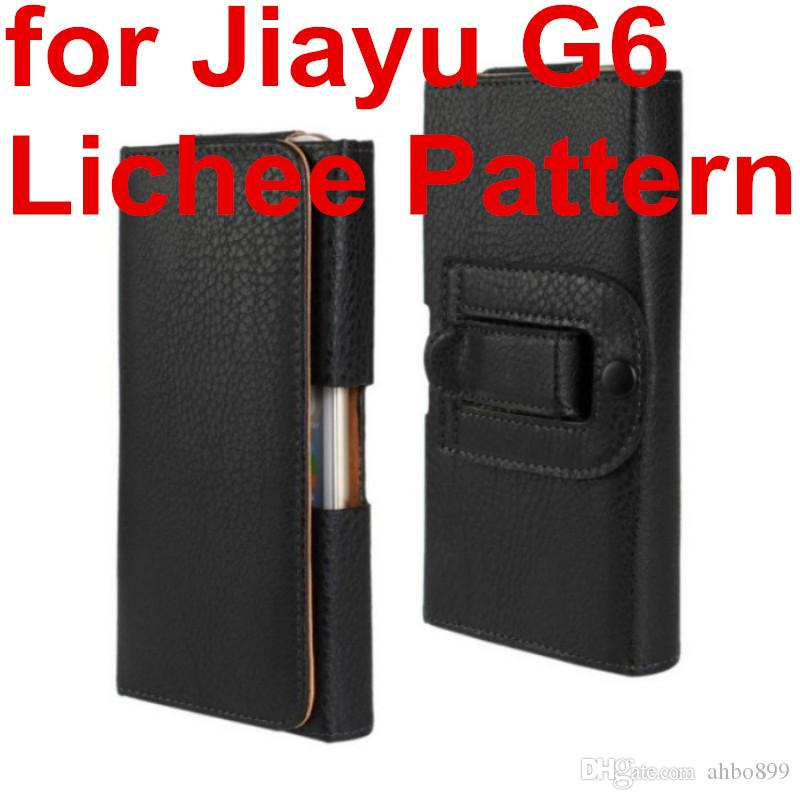Wholesale Fashion Waist Case Holster PU Leather Belt Clip Pouch Cover Case For Jiayu G6 Mobile Phone Bag Free
