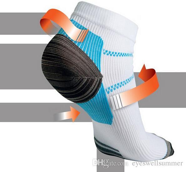 Calzino di compressione del piede di alta qualità per fascite plantare Fascite tallone Spurs