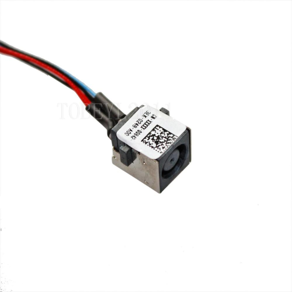 DC POWER JACK HARNESS PLUG IN CABLE FOR DELL INSPIRON 15R-5520 15R ...