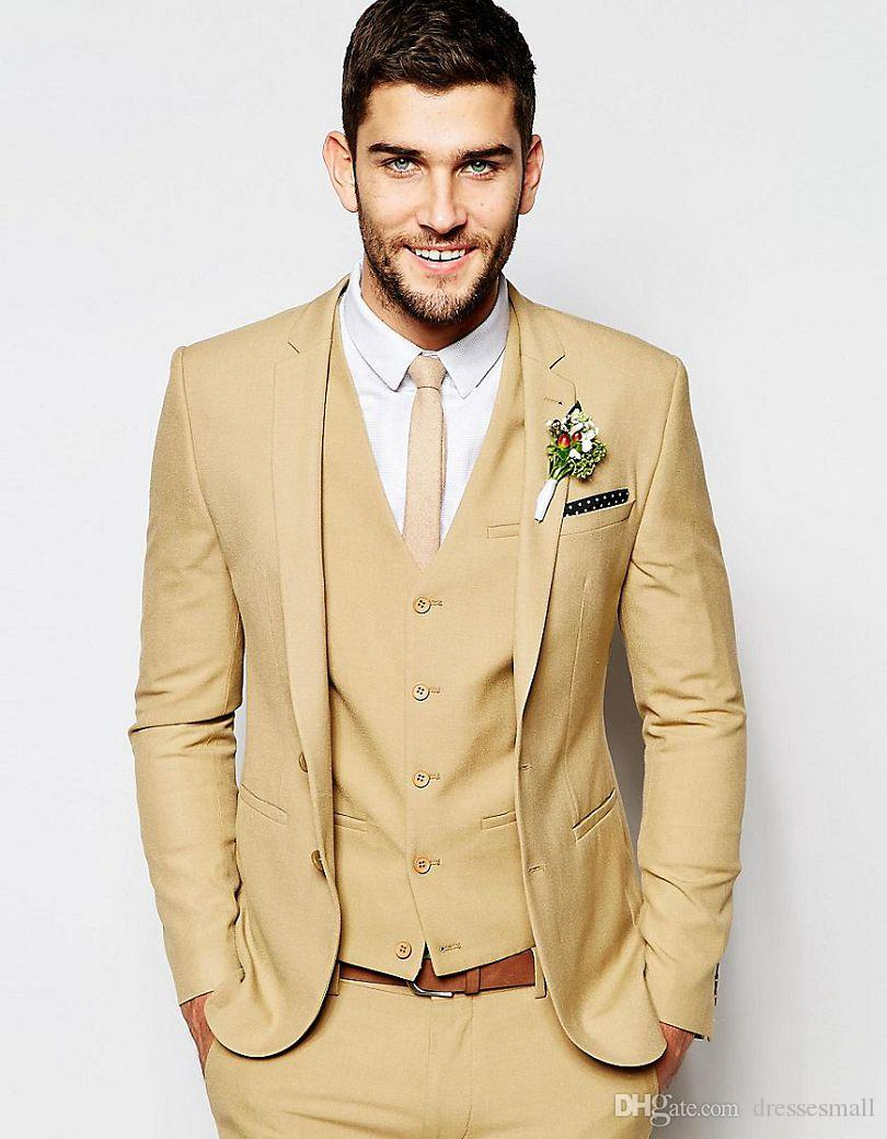 Asos Wedding Super Skinny Fit Suit In Camel Man Suit Custom Made ...